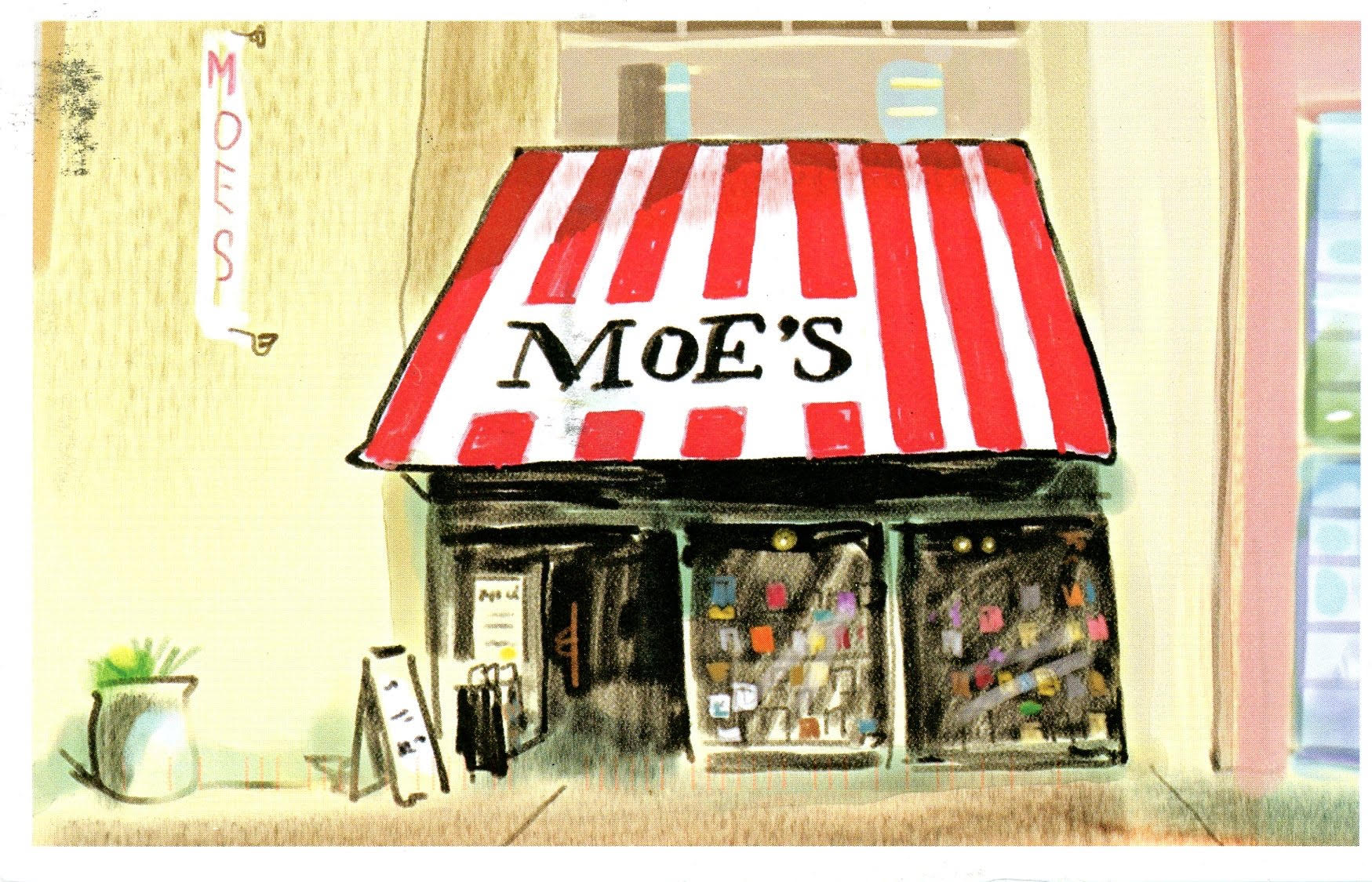 Independent Bookstore Day at Moe's