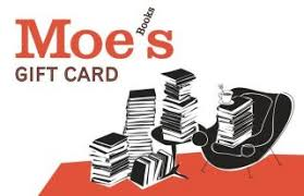 Gift Card $25. Moe's Books.