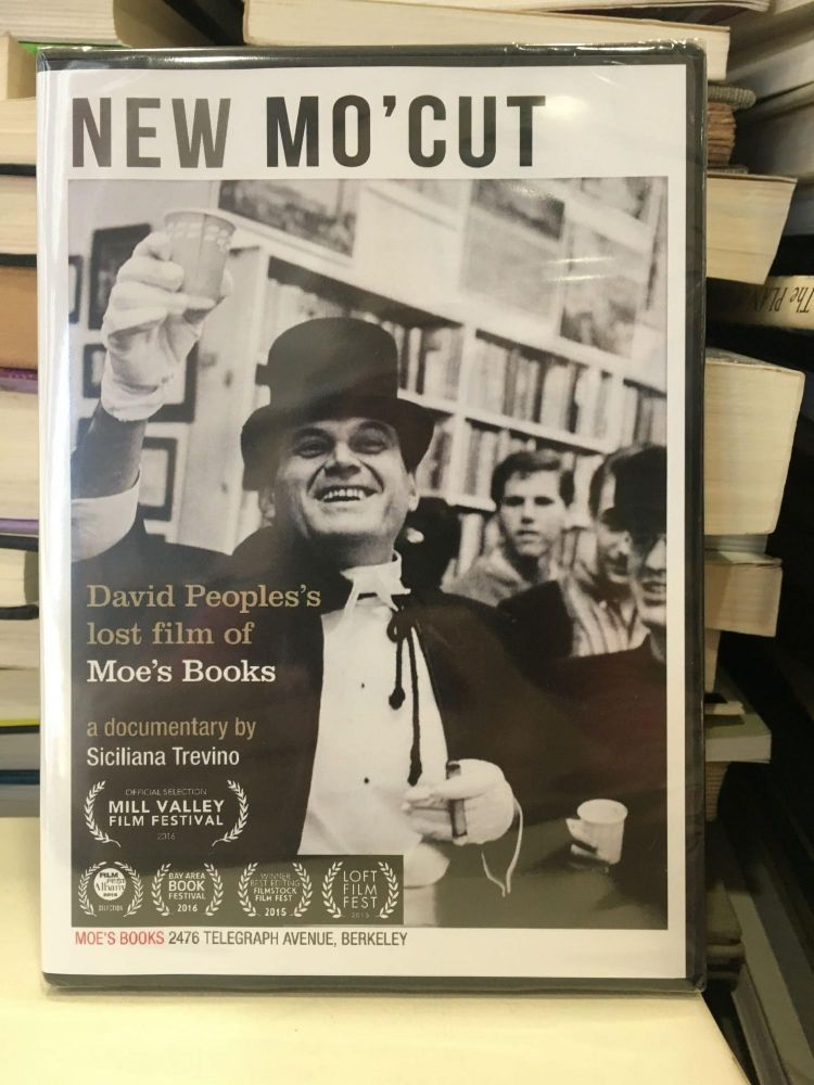 New Mo' Cut: David People's Lost Film of Moe's Books. Moe's Books.