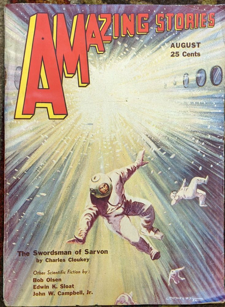 Amazing Stories, August 1932. T. O'Conner Sloane.