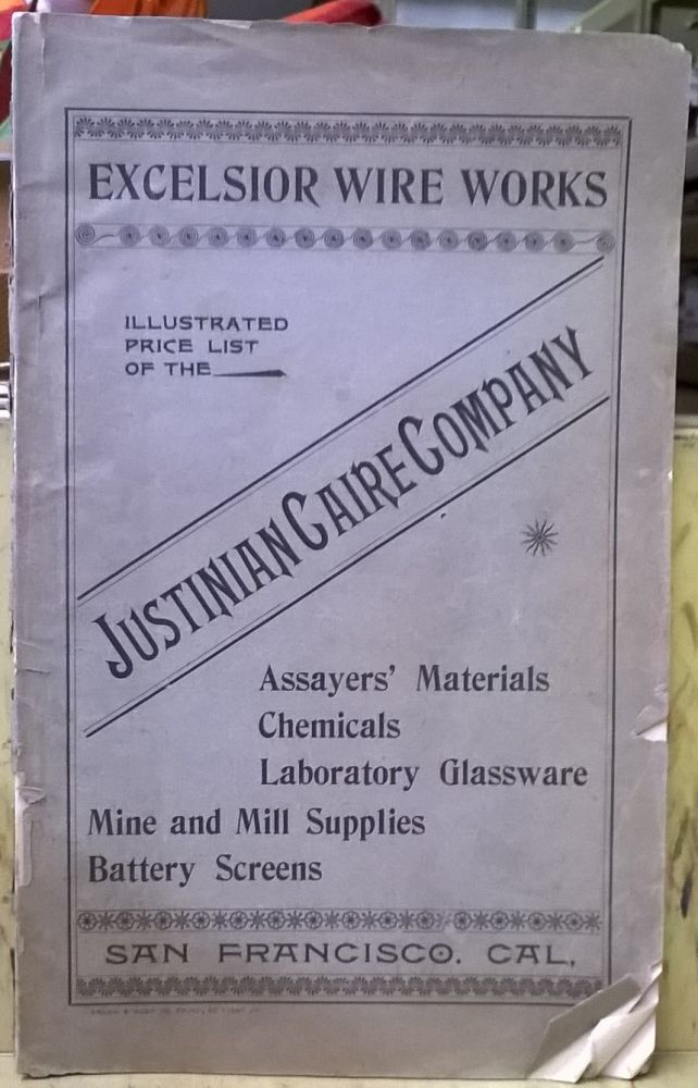Illustrated Price List of the Justinian Caire Company. Excelsior Wire Works.