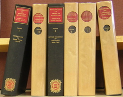 Bibliography of American Literature (First Six Volumes). Jacob Blanck, compiler.