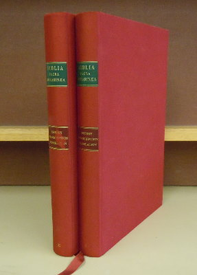 The Gutenberg Bible, A Commentary : Historical Background, Transcription, Translation , 2 volumes. Jean-Marie Dodu.