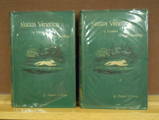 Notitia Venatica : A Treatise on Fox-Hunting, 2 volumes. Robert T. Vyner, William C. A. Blew, revised.
