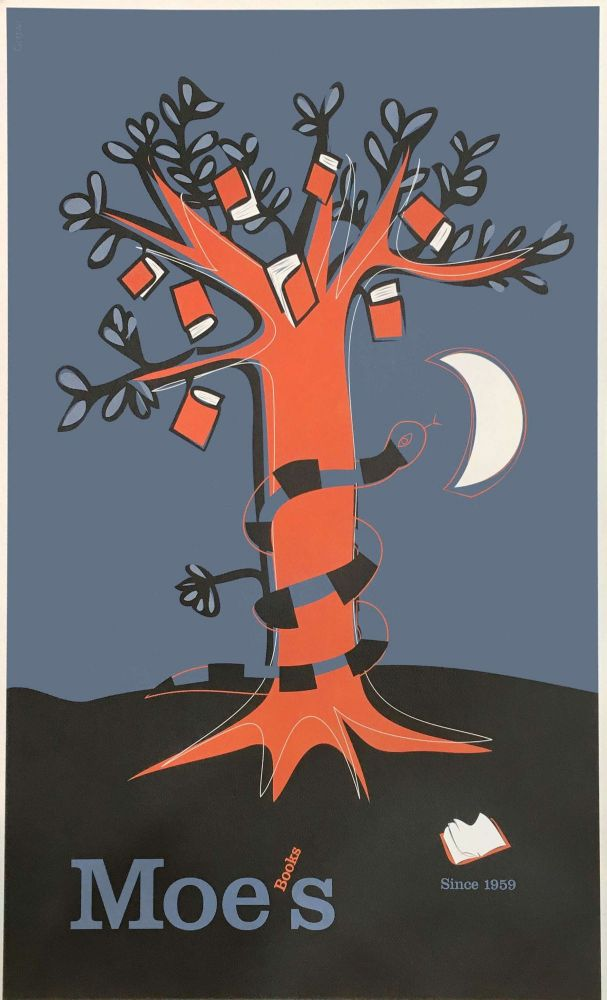 Tree of Knowledge Poster. Gregoire Vion, Moe's Books.