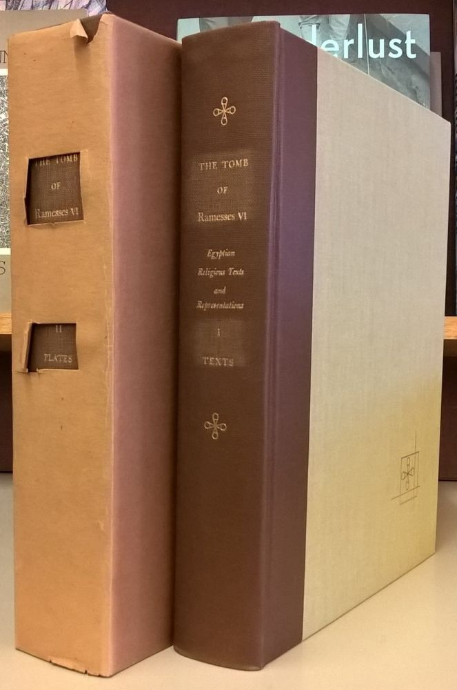 The Tomb of Rammesses VI, 2 vol, text and plates. Alexandre Piankoff.