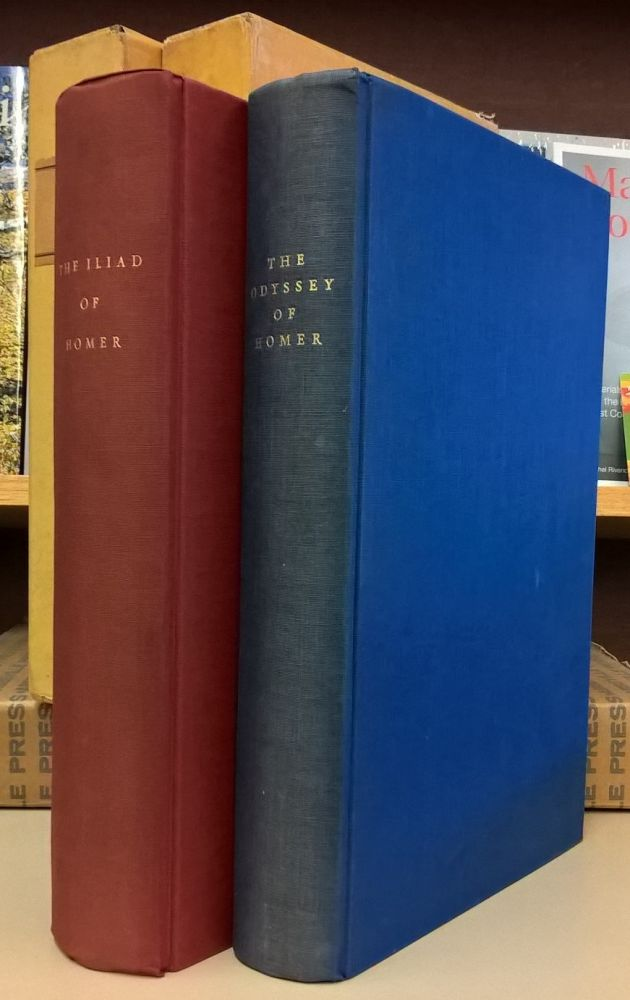 The Iliad and the Odyssey, 2 vols. Homer.