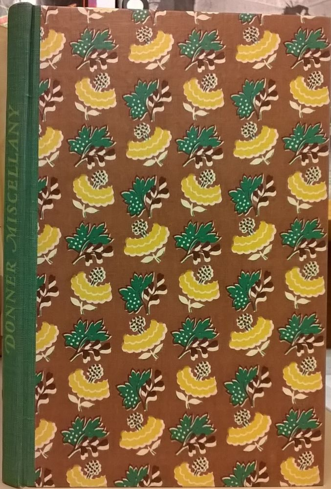 Donner Miscellany: 41 Diaries and Documents. Carroll D. Hall.