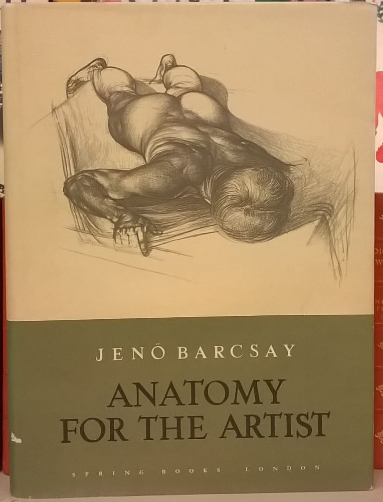 Anatomy For The Artist Jeno Barcsay