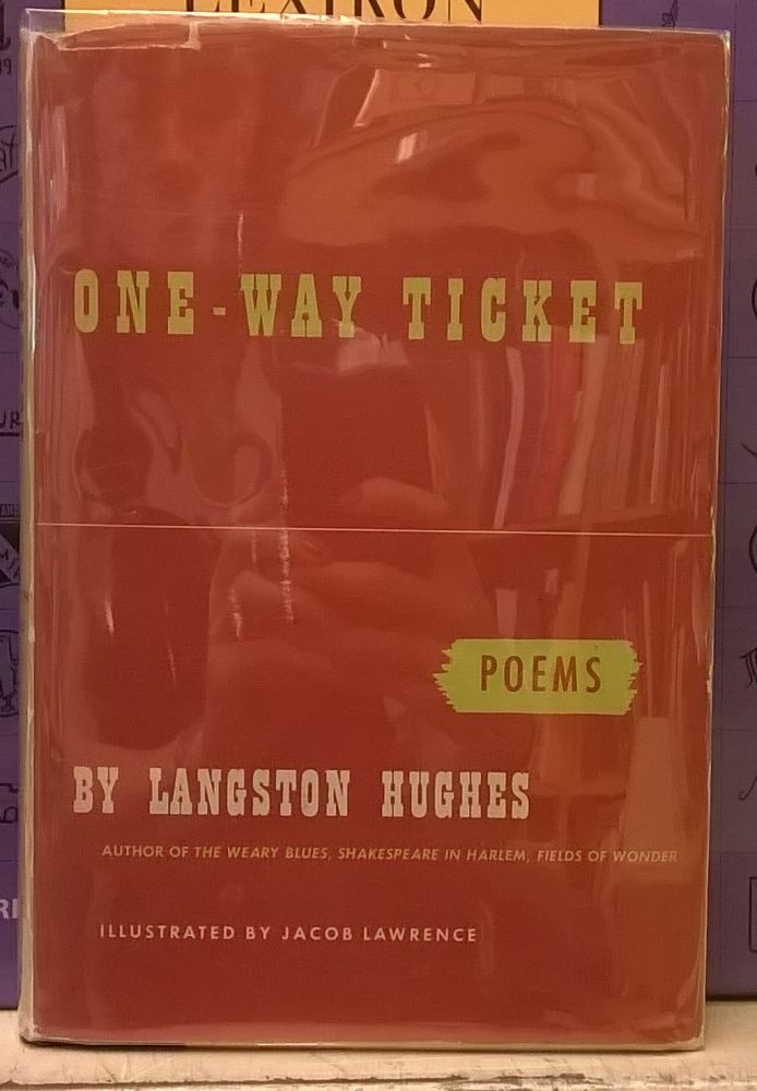 One-Way Ticket: Poems. Langston Hughes.