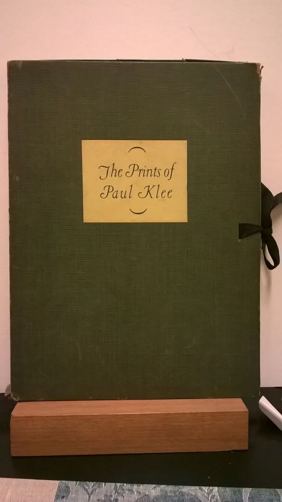 The Prints of Paul Klee. James Thrall Soby.