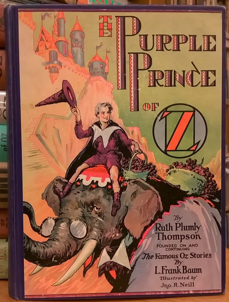 The Purple Prince of Oz. Ruth Plumly Thompson.