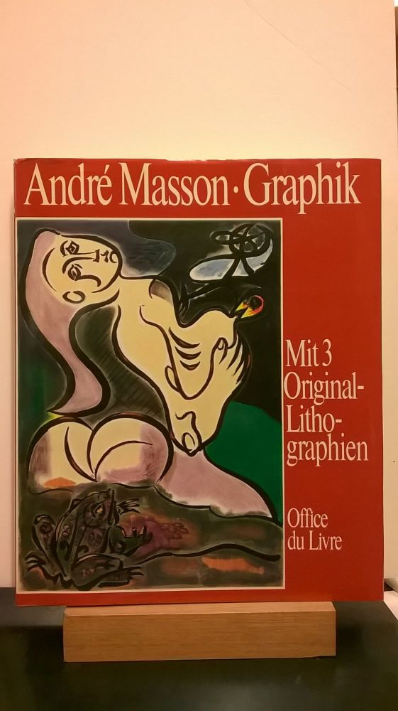 Graphik (With Three Original Lithographs). Roger Passerson Andre Masson.