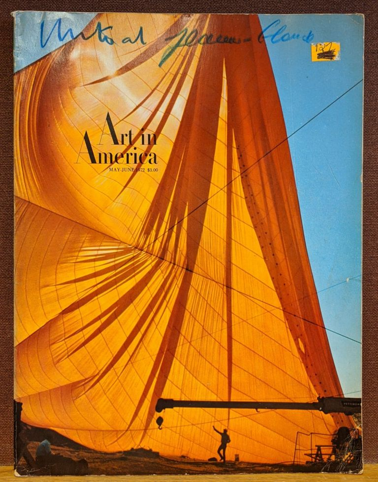 Art in America, May-June 1972 (Christo and Jeanne Claude). Brian O'Doherty.