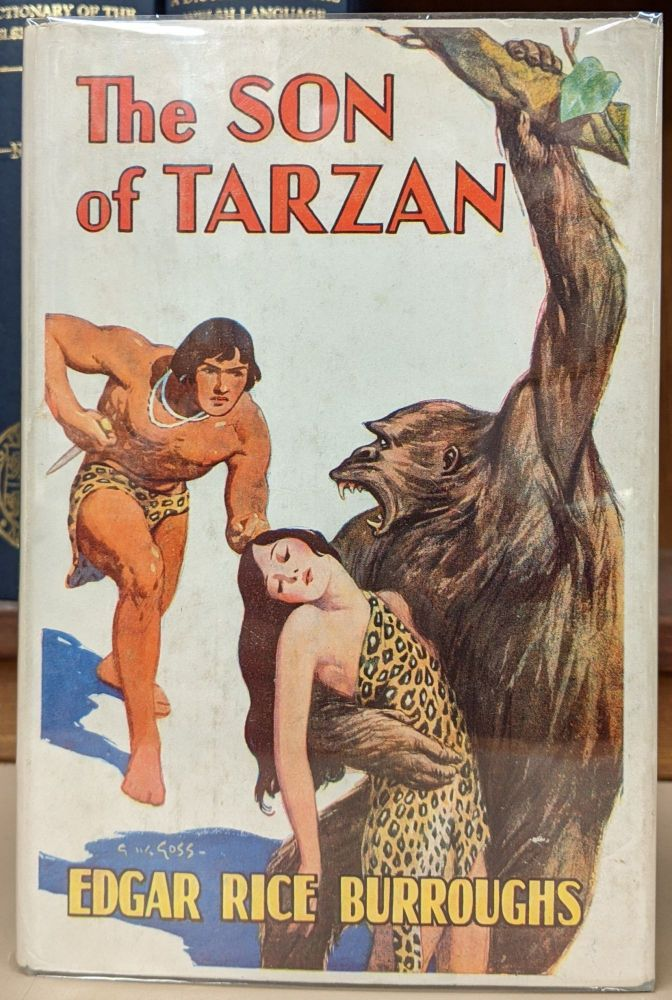 The Son of Tarzan. Edgar Rice Burroughs.