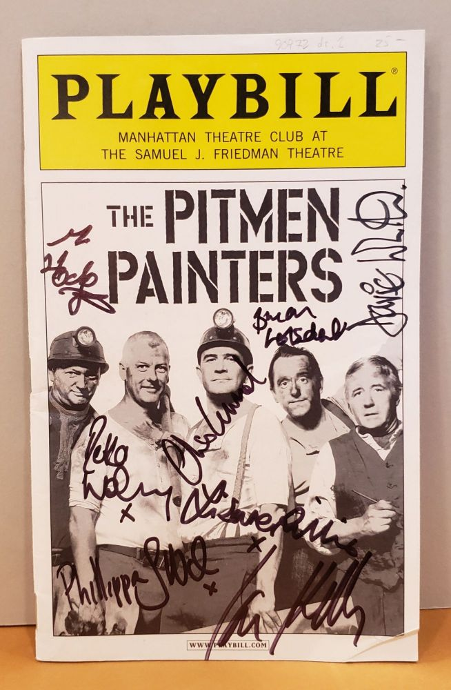 Playbill: The Pitmen Painters (signed by cast). Blake Ross.