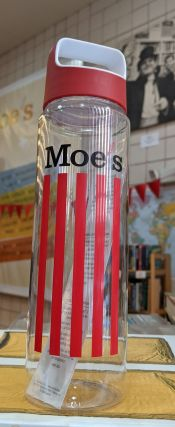 Moe's Plastic Water Bottle. Moe's Books