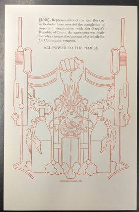 All Power to the People (Broadside). Zephyrus Press