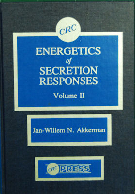 Energetics of Secretion Responses, Vol. II. Jan-Willem N. Akkerman.