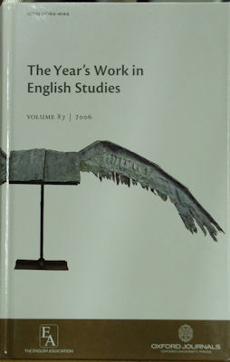 The Year's Work in English Studies. William Baker
