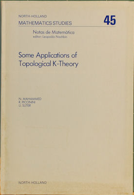 Some Applications of Topological K-Theory. N. Mahammed
