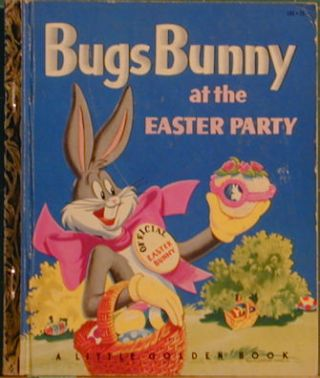 Bugs Bunny at the Easter Party. Kathryn Hitte