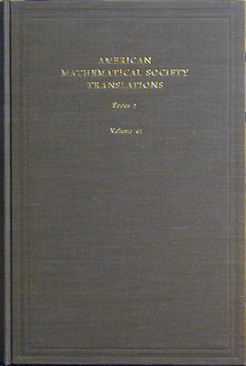American Mathematical Society Translations, Series 2, Volume 79: Thirteen Papers on Functional...