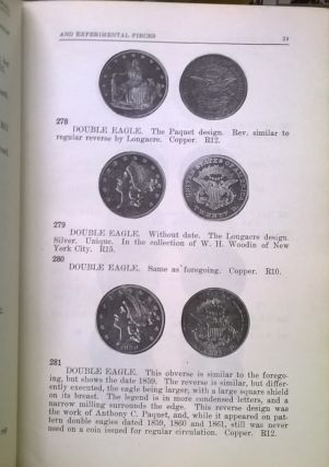 United States Pattern Trail, and Experimental Pieces (American Numismatic Series No. 1)