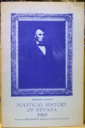 Political History of Nevada 1965 (5th ed). John Koontz