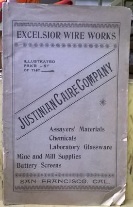 Illustrated Price List of the Justinian Caire Company. Excelsior Wire Works