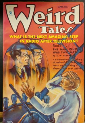Weird Tales, April 1935. Weird Tales