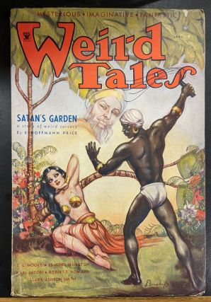 Weird Tales, April 1934. Weird Tales
