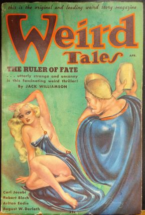 Weird Tales, April 1936. Weird Tales