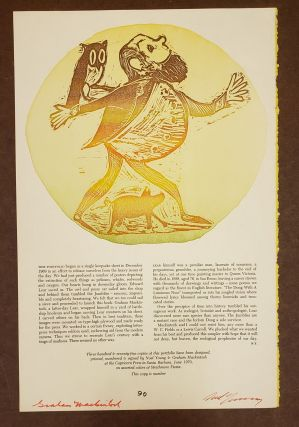 December 1969 Portfolio (Broadside). Graham Mackintosh Noel Young