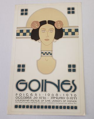 Legion of Honor Goines Poster. David Lance Goines