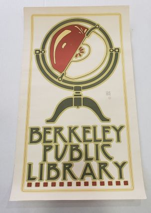 Goines Berkeley Public Library Poster. David Lance Goines