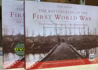 The Battlefields of the First World War: the Unseen Panoramas of the Western Front. Peter Barton,...
