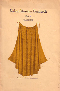 Museum Handbook: Part II, Clothing. Stanley C. Ball