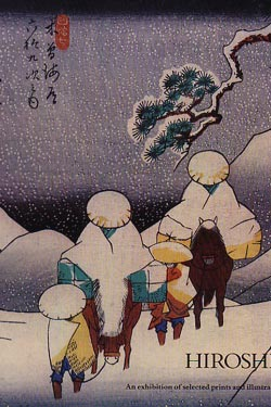 Hiroshige: An exhibition of selected prints and illustrated books. Sebastian Izzard