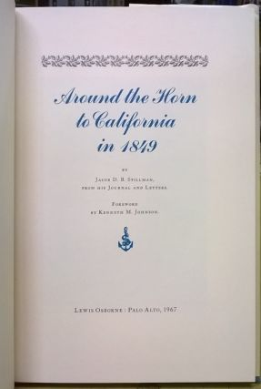 Around the Horn to California in 1849