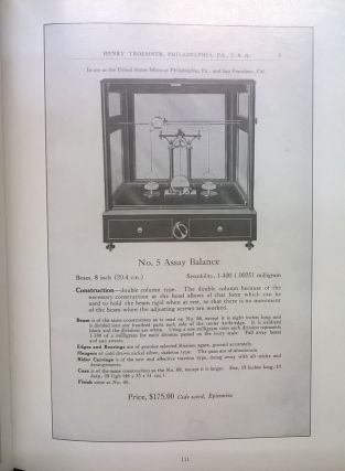 The Assay Balance: Its Evolution and the Histories of the Companies That Made Them
