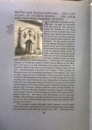 The Old Spanish Missions of California: An Historical and Descriptive Sketch