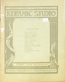 Keramic Studio: A Monthly Magazine for the Potter and Decorator. Mrs. Adelaide Alsop-Robineau