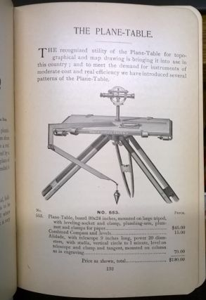 A Manual of the Principal Instruments used in American Engineering ans Surveying