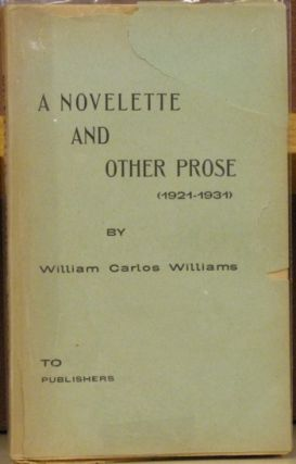 A Novelette and Other Prose (1921-1931).
