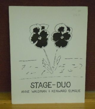 Stage-Duo. Kenward Elmslie Anne Waldman, cover, Joe Brainard
