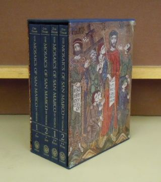 The Mosaics of San Marco in Venice 4 volume set. Otto Demus