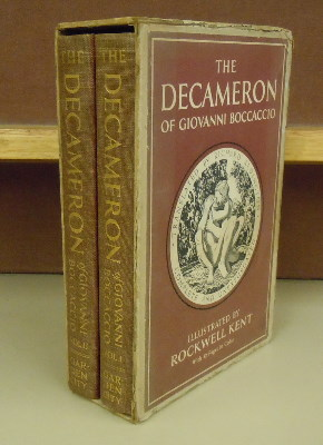 The Decameron of Giovanni Boccaccio. trans Richard Aldington, illustration Rockwell Kent
