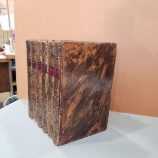 A Voyage of Discovery to the North Pacific Ocean and Round the World - 6 volume set