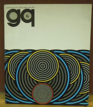 Yokoo Tadanori (GQ 6, A Quarterly Review of the Graphic Work, 1974). Yokoo Tadanori